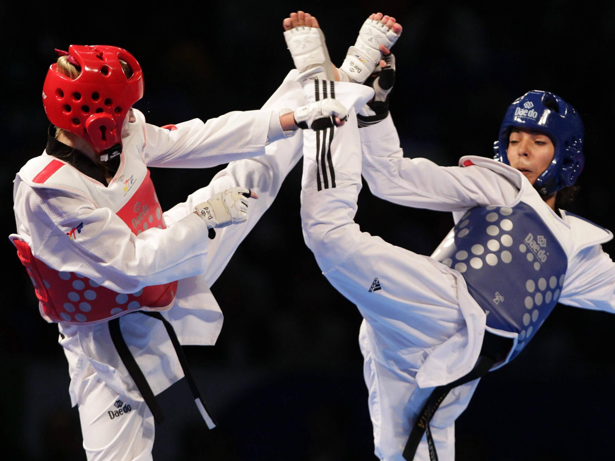 packing a punch carmen marton 29 taekwondo extreme