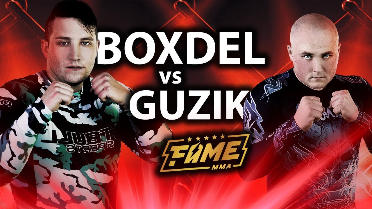 FAME MMA: BOXDEL vs GUZIK - Extreme Taekwondo